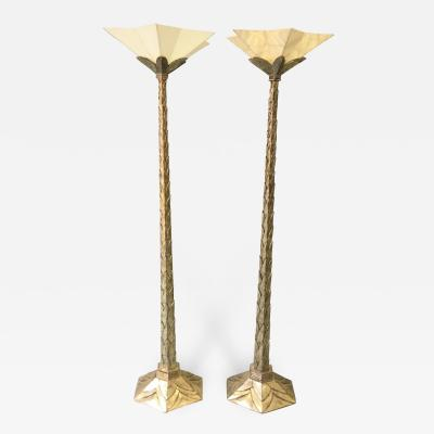 Pair of Art Deco Floor Lamps