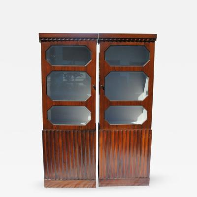 Pair of Art Deco Rosewood cabinets
