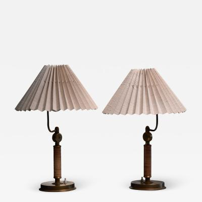 Pair of Austrian table or wall lamps 1930s