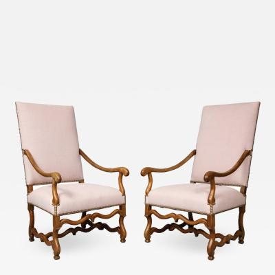 Pair of Baroque Armchairs