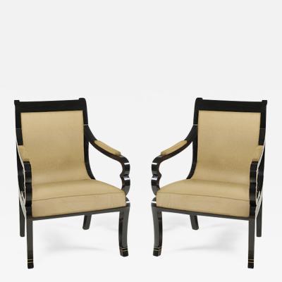 Pair of Biedermeier Armchairs
