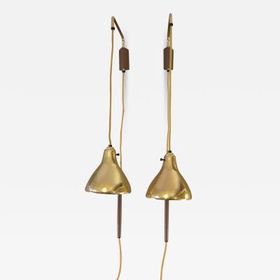 Pair of Brass Hanign Sconces