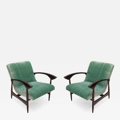 Pair of Brazilian 1960s Armchairs