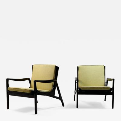 Pair of Brazilian Mid Century Modern Armchairs from 1970