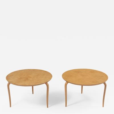 Pair of Bruno Mathsson Side Tables