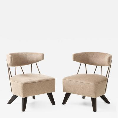 Pair of Chairs in the Style of Billy Haines