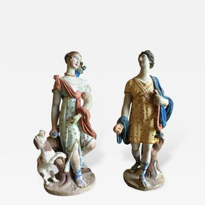 Pair of Classical Figurines 18th Century