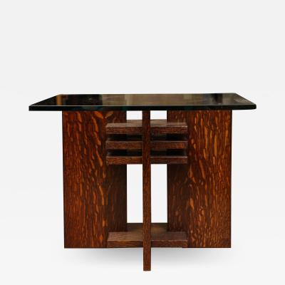 Pair of Constructivist Side Tables