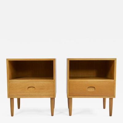 Pair of Danish Modern Nightstands