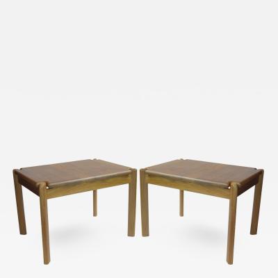 Pair of Danish Teak End Tables