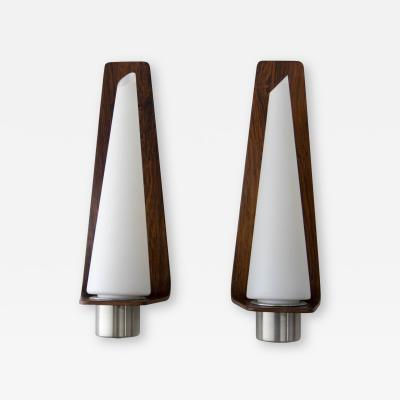 Pair of Danish Wall Lamps 1960s