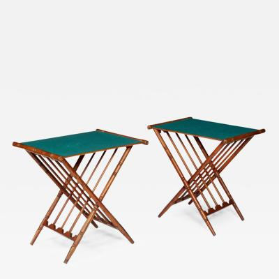Pair of Drinks Tables