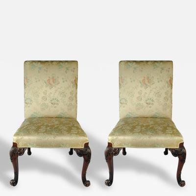 Pair of Exceptional George III Chairs