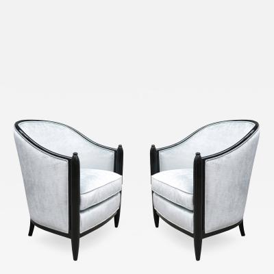 Pair of Fine Art Deco Bergeres