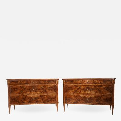 Pair of Fine Neoclassical Chests