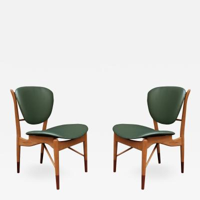 Pair of Finn Juhl Side Chairs