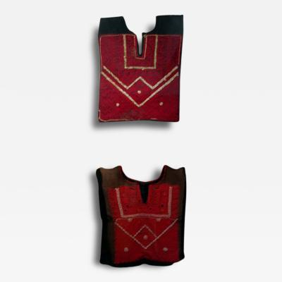 Pair of Frame Textile Vest from Bedouin Nomad