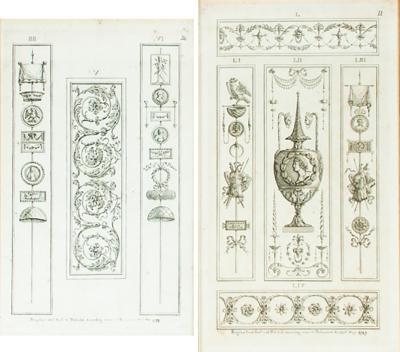 Pair of Framed Pergo Lesi Prints