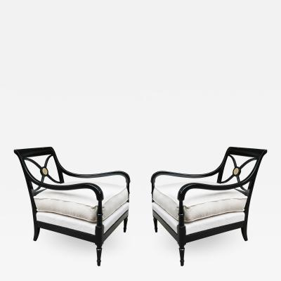 Pair of French 1940s Armchairs by Maurice Hirsch