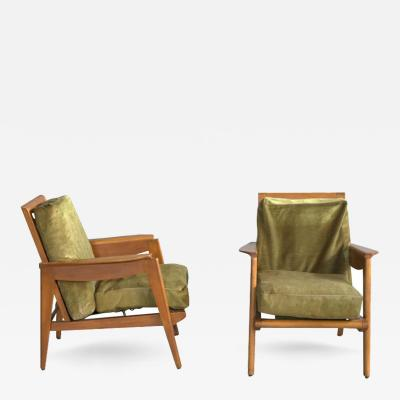 Pair of French Armchairs 1950s
