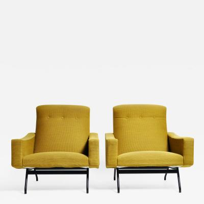 Pair of French Armchairs by Joseph Andr Motte