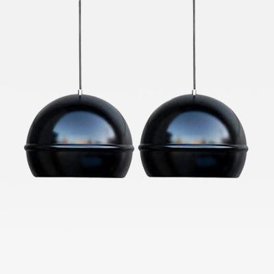 Pair of French Globe Lights