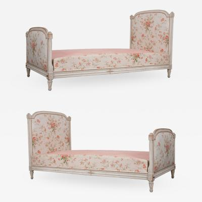 Pair of French Louis XVI Style Daybeds