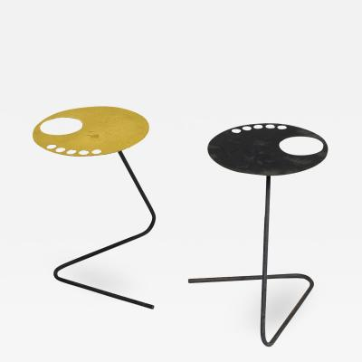 Pair of French Modern Side Tables