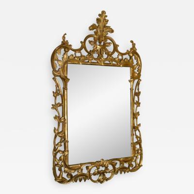 Pair of George II Gilt Pier Mirrors