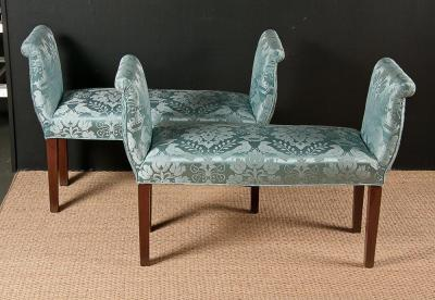 Pair of Georgian Style Window Benches