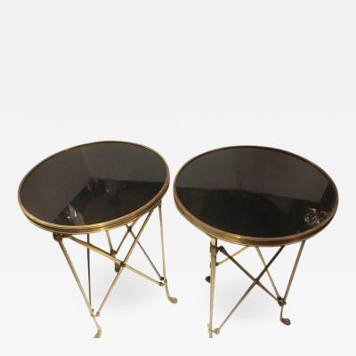 Pair of Gueridon Bronze Tables