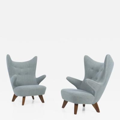 Pair of High Armchairs
