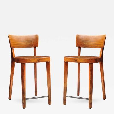 Pair of Horgen Glarus Island Chairs Switzerland Circa 1940