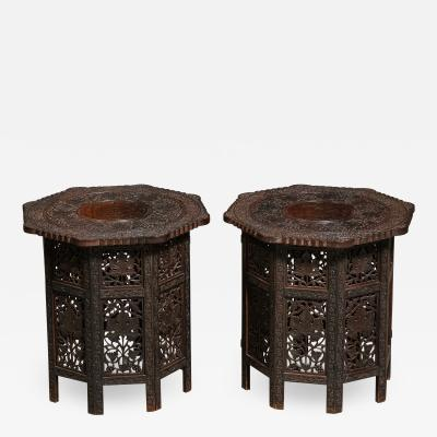 Pair of Indian Side Tables