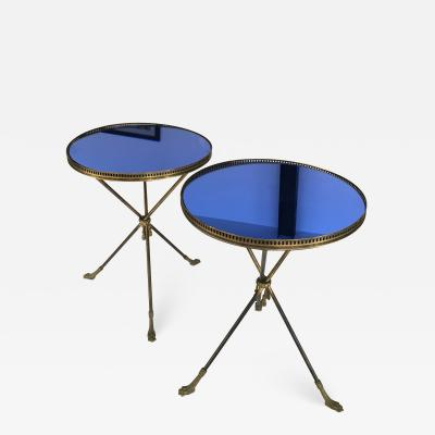 Pair of Italian 1950th side tables