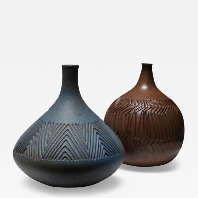 Pair of Italian 50s Ceramic Vases