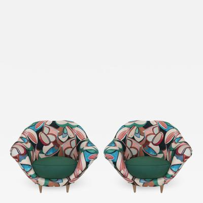 Pair of Italian Armchairs