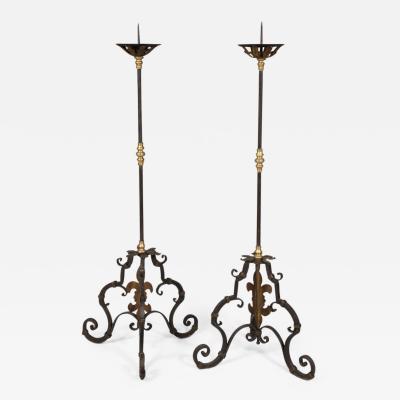 Pair of Italian Baroque Torcheres