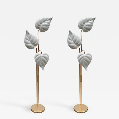 Pair of Italian Modernist Floor Lamps