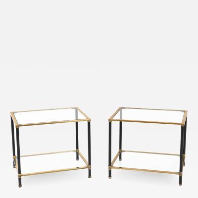 Pair of Italian Modernist Side Tables