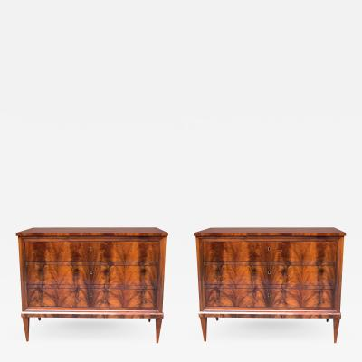 Pair of Italian Neoclassical Commodes