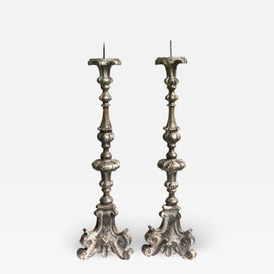 Pair of Italian Roccoco Prickets