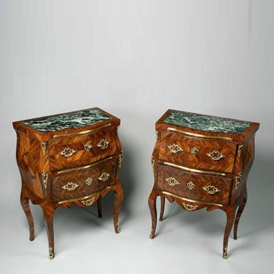 Pair of Italian Rococo Commodes