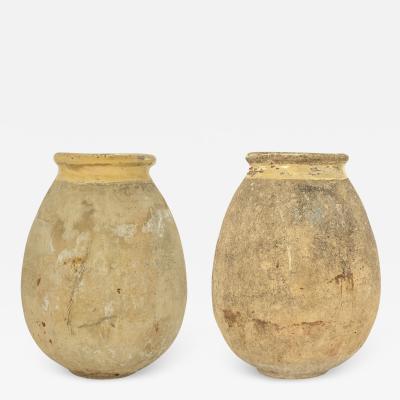 Pair of Large French Biot Jars