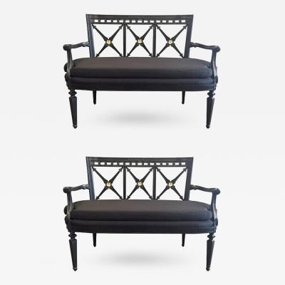 Pair of Louis XIV Style Sofas