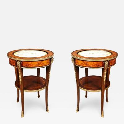 Pair of Louis XVI Round Tables