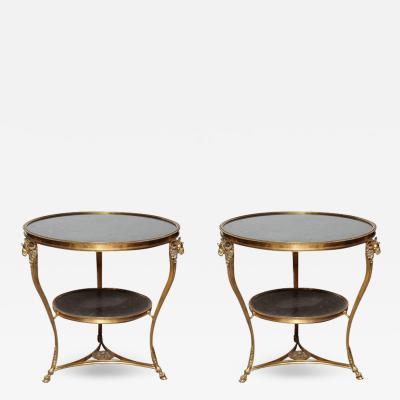 Pair of Louis XVI Style Gueridons