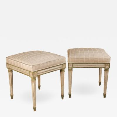 Pair of Louis XVI stools