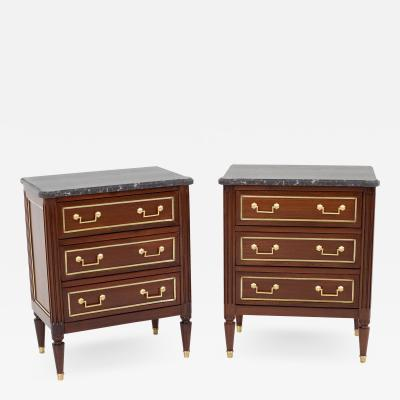 Pair of Mid 19th Century Bedside Commodes