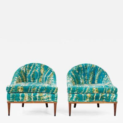 Adrian Pearsall Pair Of Adrian Pearsall Lounge Chairs